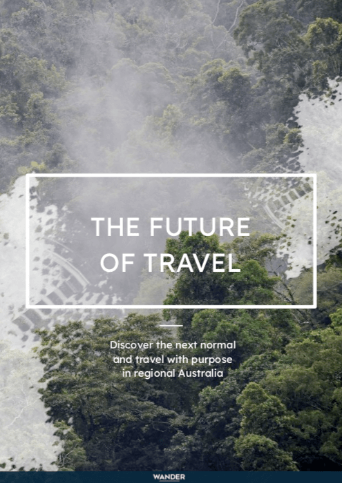 the future of travel white paper from wander